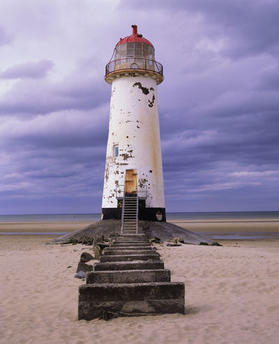 Talacre Beach Talacre Lighthouse Talacre Lighthouse Old Lighthouse Cloud - Sky Sky Tower Guidance Architecture Built Structure Land Beach Direction Building Exterior Sea Nature Water Security Safety Protection No People Horizon Outdoors Horizon Over Water