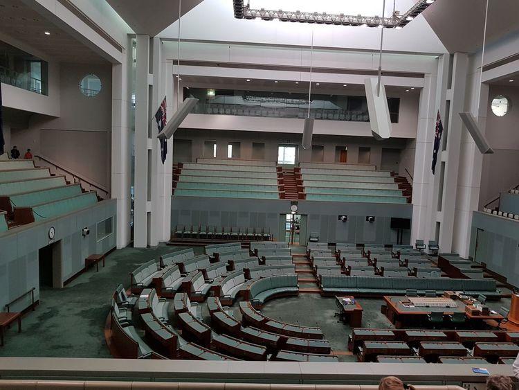 Australia Canberra Day House Of Representatives Parliament Building Parliament Of Australia Parlıament Senate