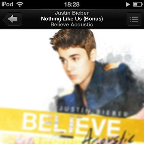 This song...<3 Justinbieber Nothinglikeus Love Believe believeacoustic jelieber belieber jelena selena omg instagood instalike follow followme followback