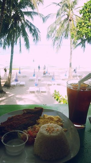Morningbreakfast Boracay Island, Philippines Summervacation2k17 Summerbreeze Freshairinthemorning Palm Tree Tree Food And Drink Drink Drinking Glass Beach Healthy Eating Tropical Climate Refreshment Food Water Freshness Cocktail People Day Adult Outdoors Nature Sky Ready-to-eat