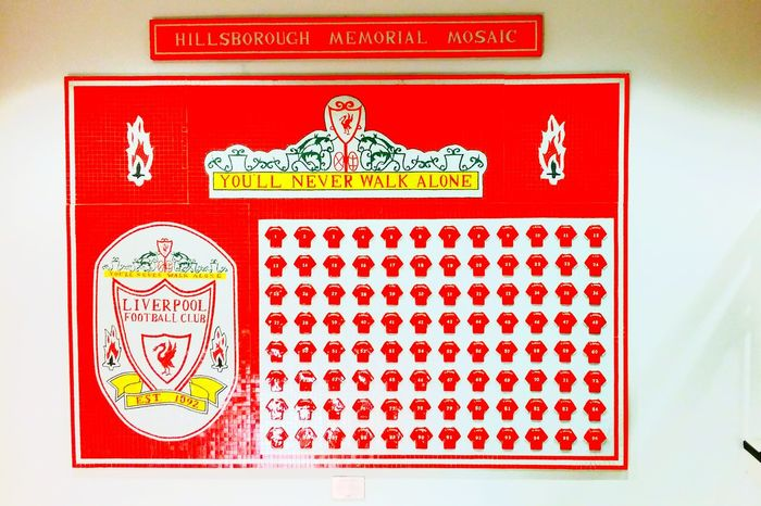 No one should go to a football match and not come home... Hillsborough Memorial JFT96 YNWA