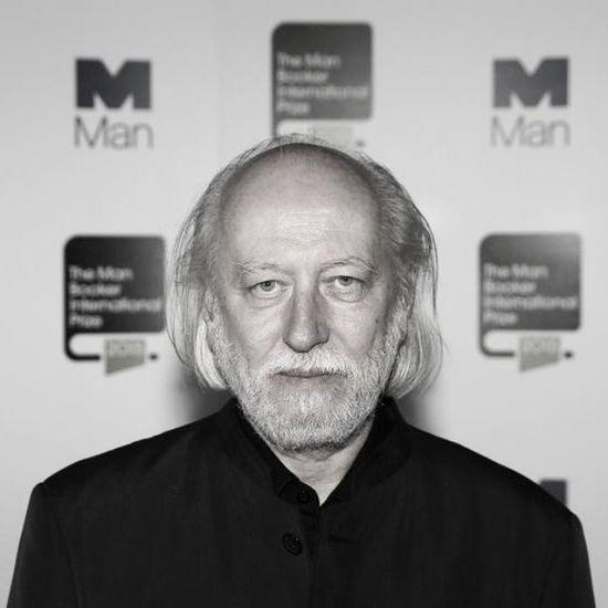 László Krasznahorkai. Named the 2015 Man Booker International Prize winner. Hungarian Novelist Screenwriter Litrature Awards Booker News 2015  Satantango Belatarr