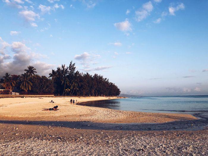 Reunion Island IPhoneography TheWeekOnEyeEM Water Sky Tree Beach Land Sea Tranquility Scenics - Nature