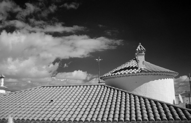 Architecture Building Exterior Built Structure Day Infrared Photography Miami Platja-Tarragona-Spain No People Outdoors Residential District Sky