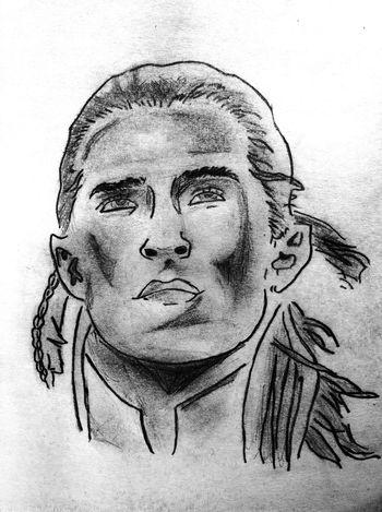 Legolas Drawing