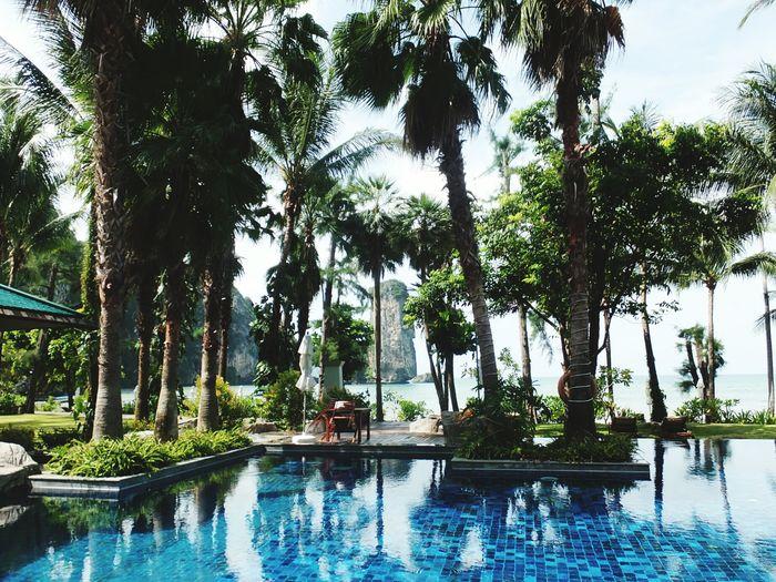 Krabi, Thailand Hotel View