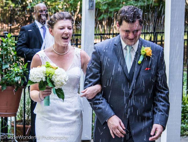 Raining Rice Wedding Weddingshots PuddleWonderful Wedding Photography