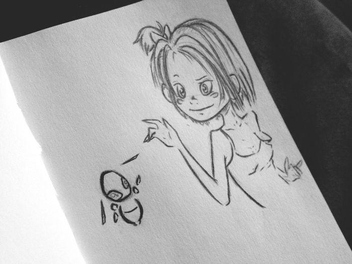 Do you like my art? If so please follow me at www.facebook.com/Frankendweebisme. Thank you! Doodle Art Cartoon Sketch