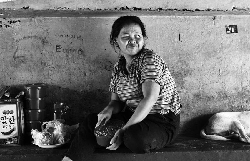B&W Portrait Streetportrait EverydayManila Homeless Underthebridge