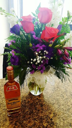 My Favs Thanks Baby  Enjoying Life Coco'sPics Flowers Tequila Time