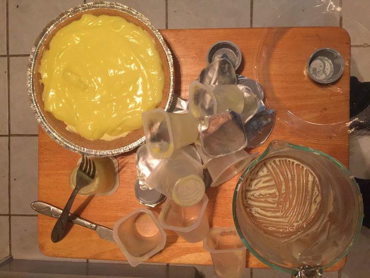 Lemon Cheese Cake Done