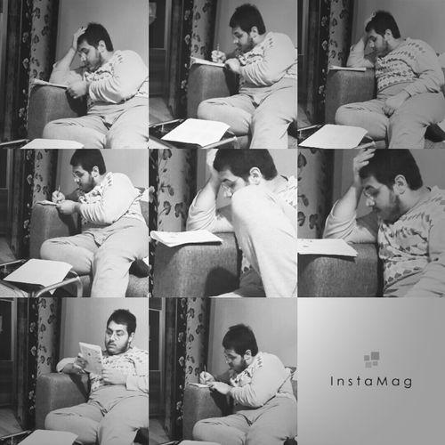 Sınava çalışıyor benim kocişim :) Sınav çalıskaninsan Sevimlitofitamm♡