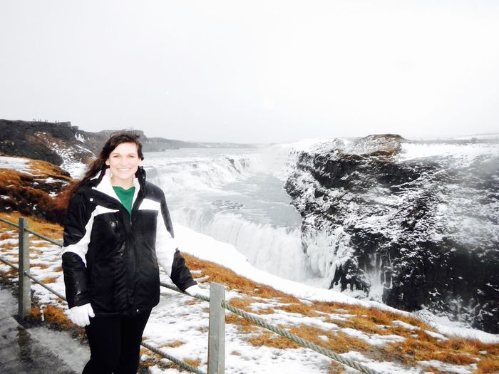 Goldencircle Iceland Nature Winter Gulfoss Waterfall