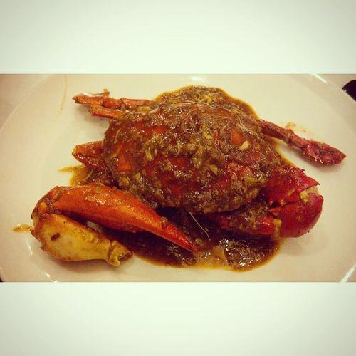 Kepiting Saus Padang ... Instafood Kepiting Crab Sauspadang indonesianfood justashot food yummy