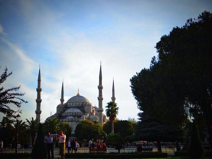 Dome Travel Destinations Architecture Sky Tourism Spirituality Building Exterior Day Istanbul Sultanahmet