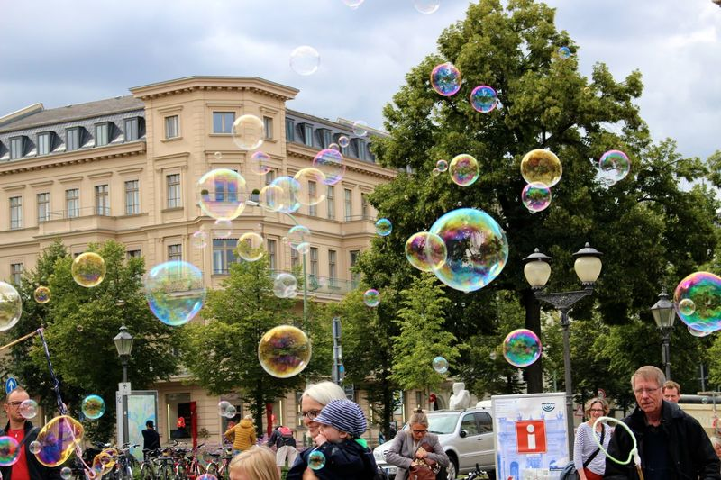 Bubbles... Bubbles...Bubbles.... Colours Of Life Flying In The Sky Freedom Libertá Morgana Nofilter Potsdam