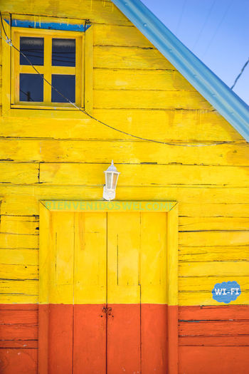Paint The Town Yellow Architecture Building Exterior Built Structure Day No People Outdoors Yellow