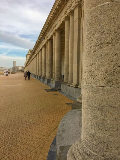 Thermae Palace Architecture Built Structure Sky Architectural Column Travel Destinations History Tourism Building Exterior Day Outdoors Ostend Belgium Travel Photography Traveling