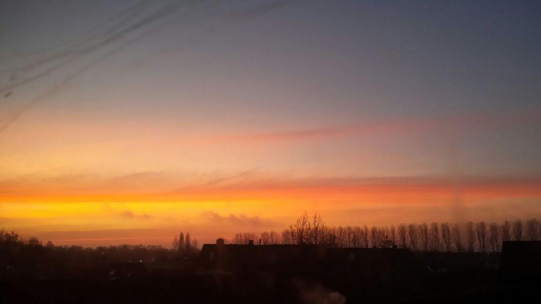 Groningen Beijum Sunrise Goedemorgen Wakeup NoEditNoFilter Myfuckinggroningen