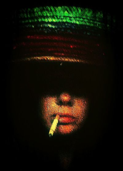 Darkness And Light Sombrero Smoking