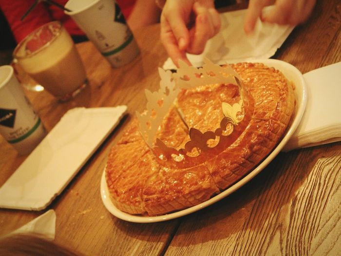 Galette Des Rois Galettedesrois Galette Foodphotography Foodporn Food Foodie January2016 Enjoying Life From My Point Of View Eye4photography  Urbanphotography Lacreperie Showcase: January Just Go Shoot My City Urbanliving Hanging Out Urbanexploration EyeEm Best Shots Real People Wintertime Urbandecay Urbanlifestyle Tradition
