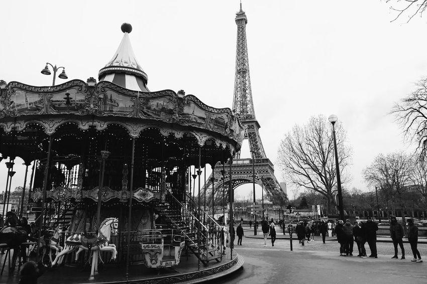 Paris. City Architecture Travel Travel Destinations Building Exterior Tourism Outdoors Cityscape Paris Paris, France  Eiffel Tower Tour Eiffel France Romantic The Architect - 2017 EyeEm Awards