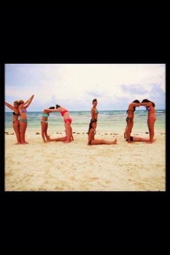 Beach #yolo #friends
