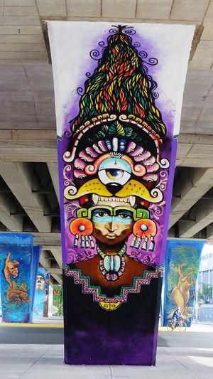 CelayaGto Art, Drawing, Creativity Purple Man Yellow Orange Earrings Green Color Eyes Are Soul Reflection Leaves Teeths