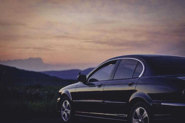 Car Focus On