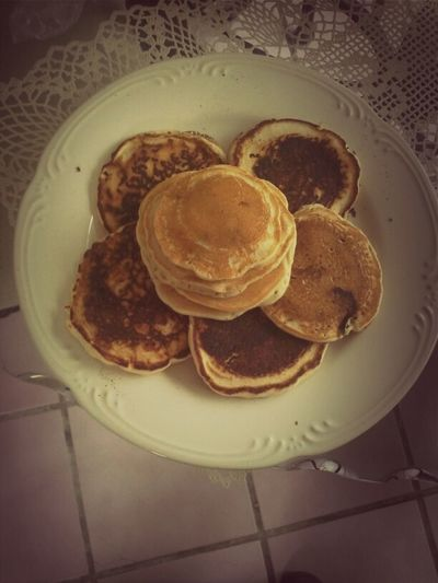 chocolate chip pancakes ♥