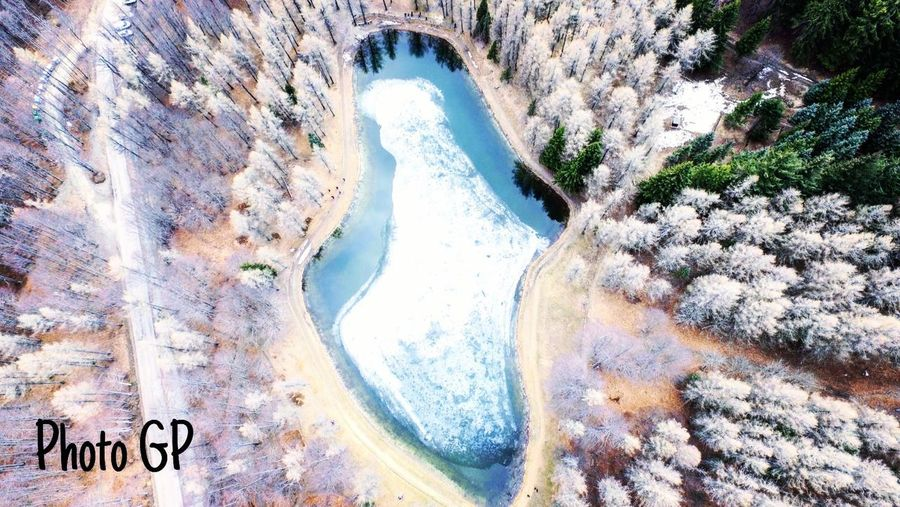 DJI Phantom 3 Professional Beauty In Nature Day Dji Inverno Lagoghiacciato Nature No People Outdoors River Rock - Object Scenics Water Food Stories