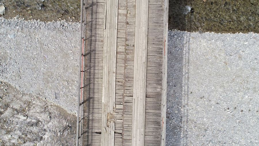 River Aerial Photography Textured  Backgrounds Pattern Full Frame Close-up Railway Track LINE