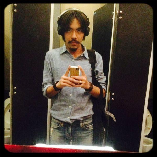 It's Me Toilet Mirror Selfportrait