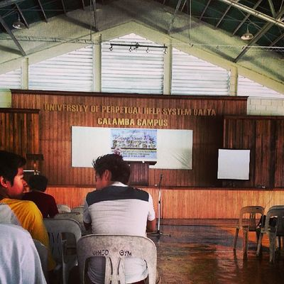 Here at UPHSD-Calamba Campus gym. Orientation naming engineering :D Engineering Uphsd Electronicsandcommunicationengineering Electricalengineering mechanicalengineering civilengineering computerengineering industrialengineering uphsd instagood Philippines