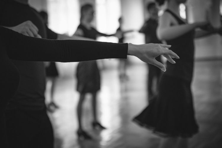 Hand Of A Ballet Dancer