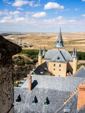 Alcazar de Segovia Alcazar Architecture Castle Famous Place History Segovia SPAIN Tower