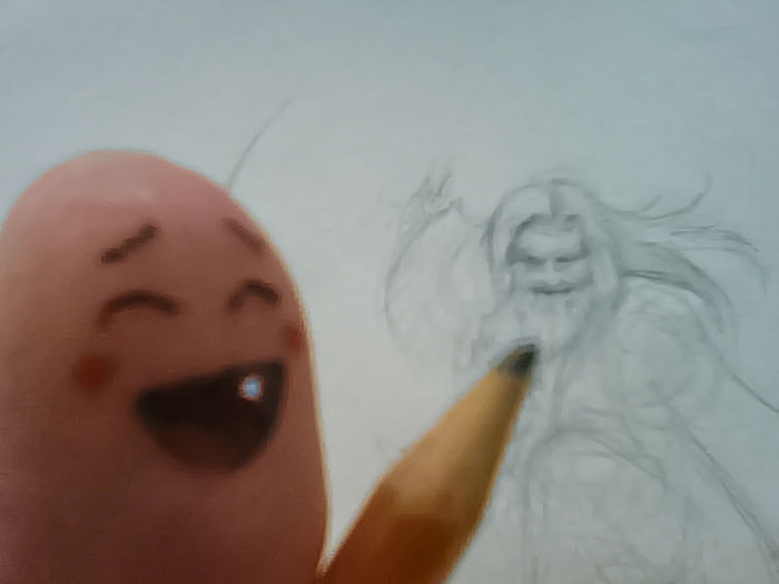 selfie Artist Happy Headshot I Like To Move It Move It Portrait Selfie Showing Sketching Telling Stories Differently