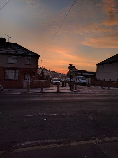 December days Sunset Outdoors City Sky No People Hustle