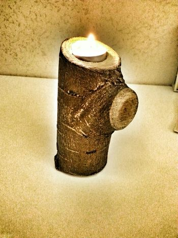 Candleholder Diy Project Wood Art Handmade