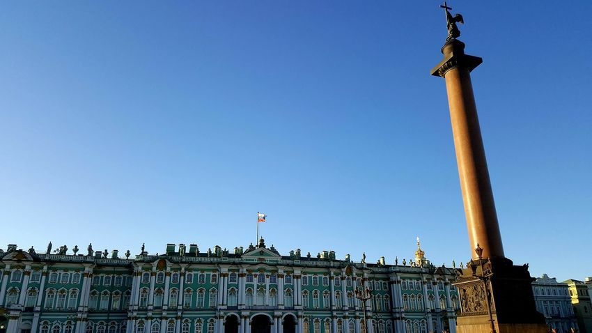 Statue Architecture History Sculpture Travel Destinations Architectural Column Patriotism Blue Day Sky Outdoors City No People Politics And Government Imperial Palace St. Petersburg, Russia Winter Palace Alexander Column Palace Square Shadows & Lights Hermitage, St. Petersburg St. Petersburg Russia Hermitage Museum Shadow