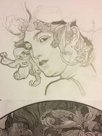 Inprocess Inprogress ArtWork Pencil Drawing Paper Artsy Sunlight ☀ FreehandDrawing