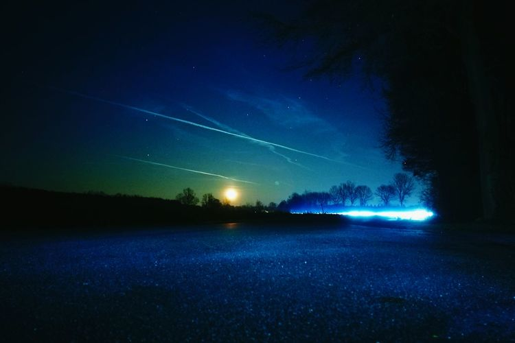 Night Beauty In Nature Nature Sky Star - Space No People Astronomy Outdoors