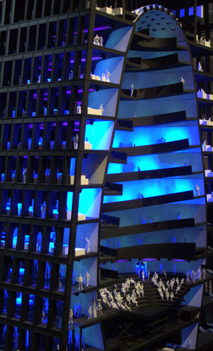 Abstract Architecture Art Biennale 2016 Blue Blue Sky Color Contemporary Art Street Urban