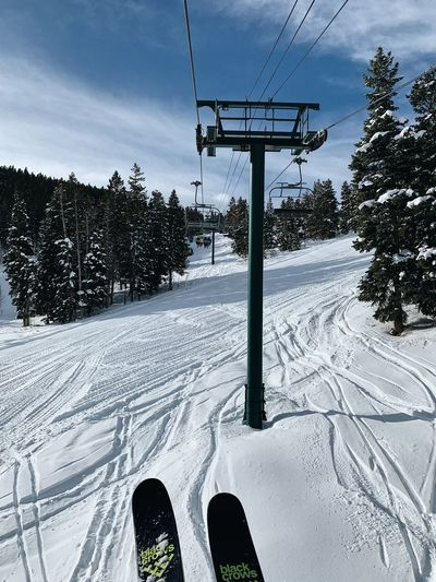 Utah Wasatch Mountains Skiing Park City, Utah Snow Winter Cold Temperature Sky Nature Tree Plant