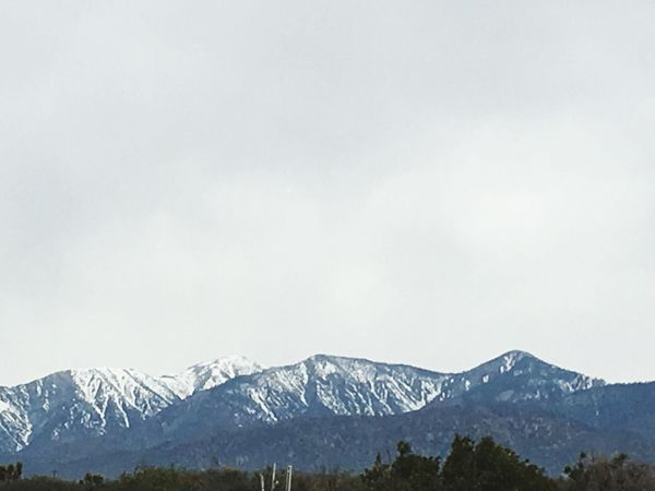 Landscape_photography No People Mountain Range Snowcapped Mountain High Desert