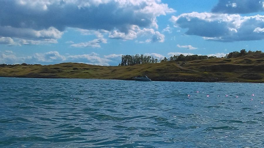 Sky And Clouds Boats⛵️ Hillside Rollingwaves Water_collection Boats And Water