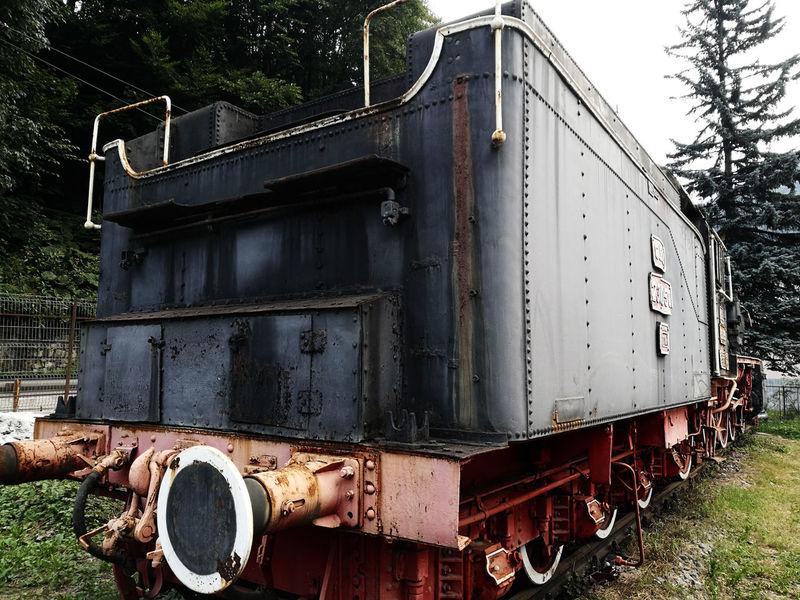 Train - Vehicle Rusty Abandoned History Industry