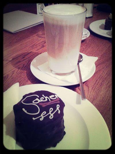 Lecker ❤ Minikuchen Latte Macchiato Caramelmachiato ♥