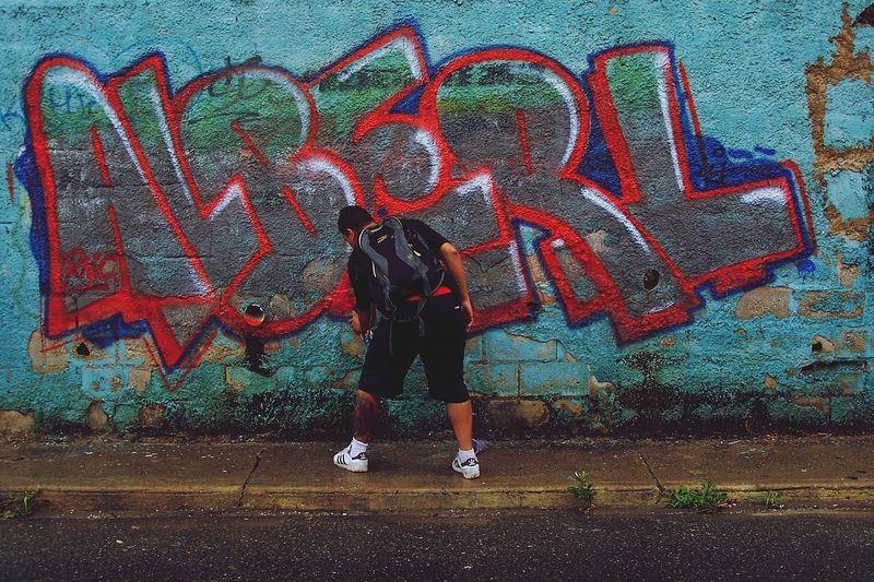 Graffity Vandal Graffityurban Street