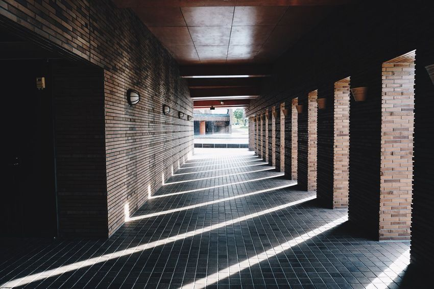 Toyama Architecture Built Structure Building Indoors  The Way Forward Direction No People Day Flooring In A Row Colonnade Pattern The Architect - 2018 EyeEm Awards The Street Photographer - 2018 EyeEm Awards